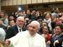 2017 - Gli Sposi in udienza dal Santo Padre