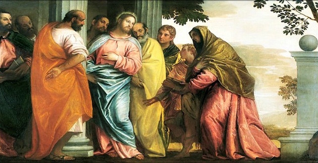 MÉDITATIONS CHRÉTIENNES POUR TOUTE L`ANNÉE - Pere Buse`e - Cie de Jésus - année 1708 Jesus-meeting-mother-of-james-and-john-642x330